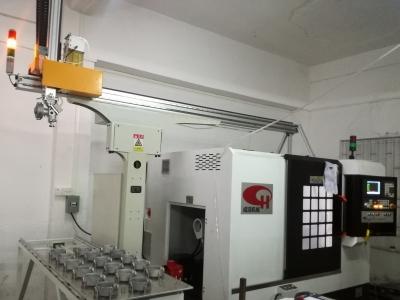 电机端盖CNC车床自动上下料机械手