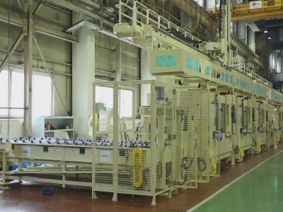 数控车床多联机桁架机械手自动生产线,高效的机械加工自动化解决方案-数字化无人工厂