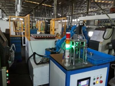 电机轴绕线焊接检测上下料机器人